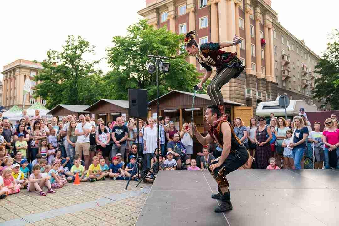 מופע קרקס בצ'כיה